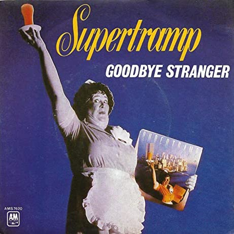 """Goodbye Stranger"" single art"