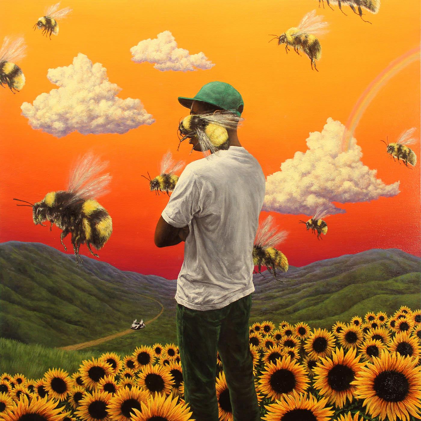 Scum Fuck Flower Boy's album art