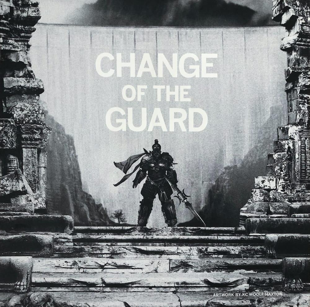 """Change of the Guard"" art insert"